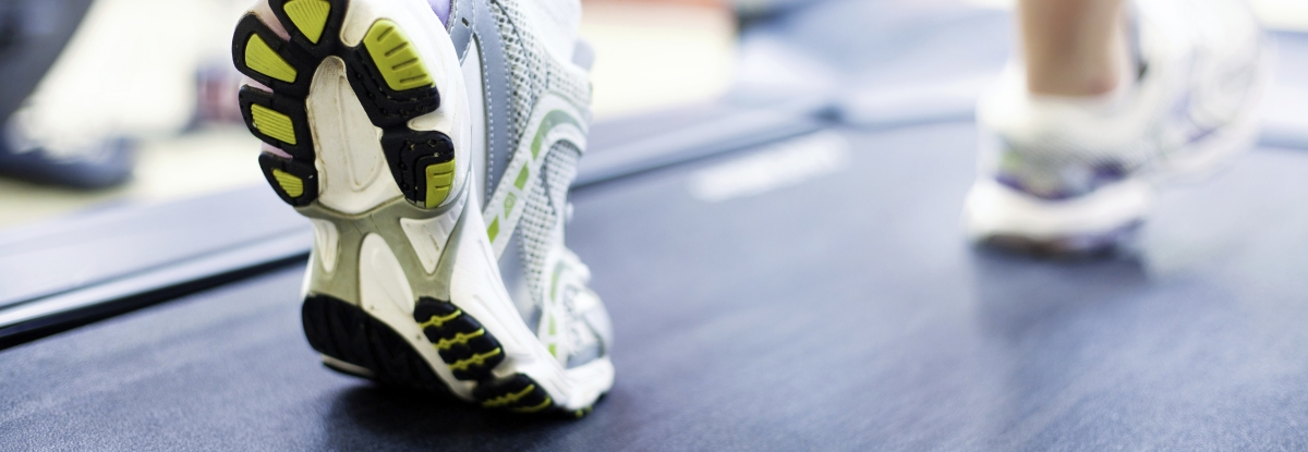 podiatry treadmill - feet walking